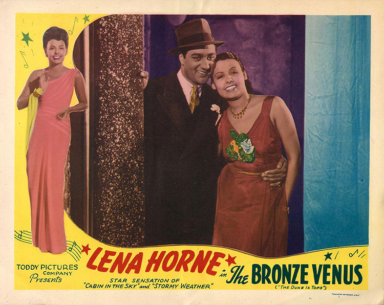 Lena Horne in The Bronze Venus