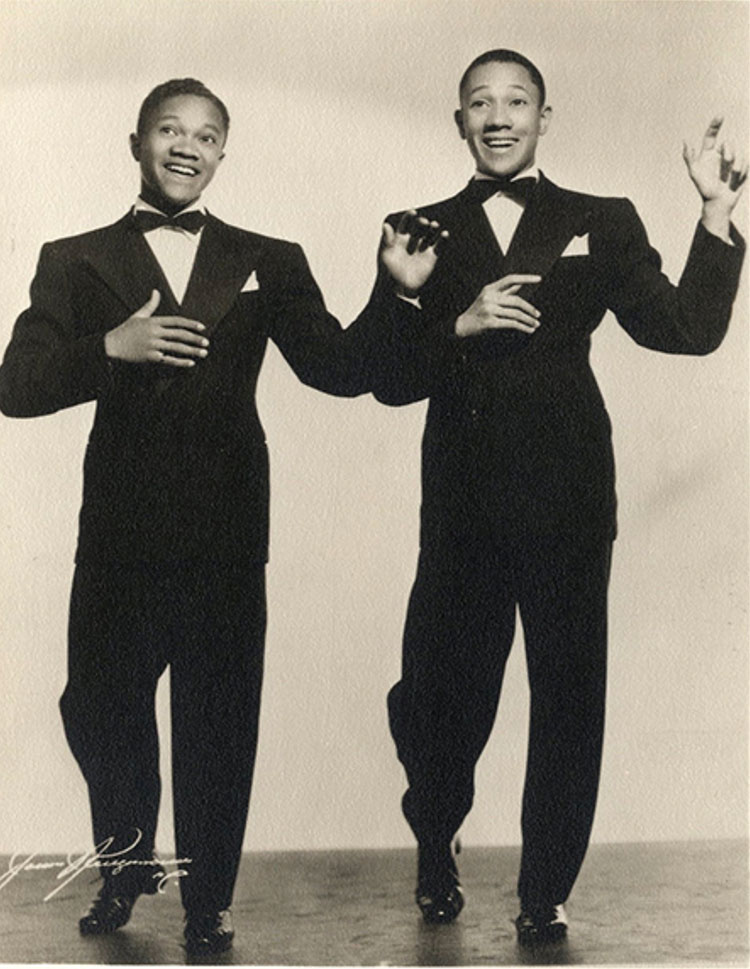 Collection of Nicholas Brothers photographs