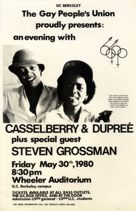 EVENING WITH CASSELBERRY AND DUPREE, AN (1980)