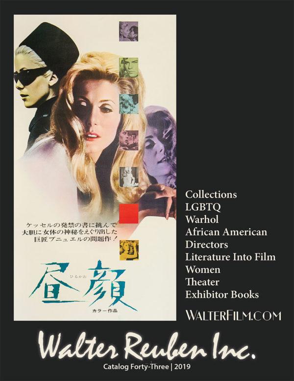 Walter Film Catalog Cover - Belle de Jour