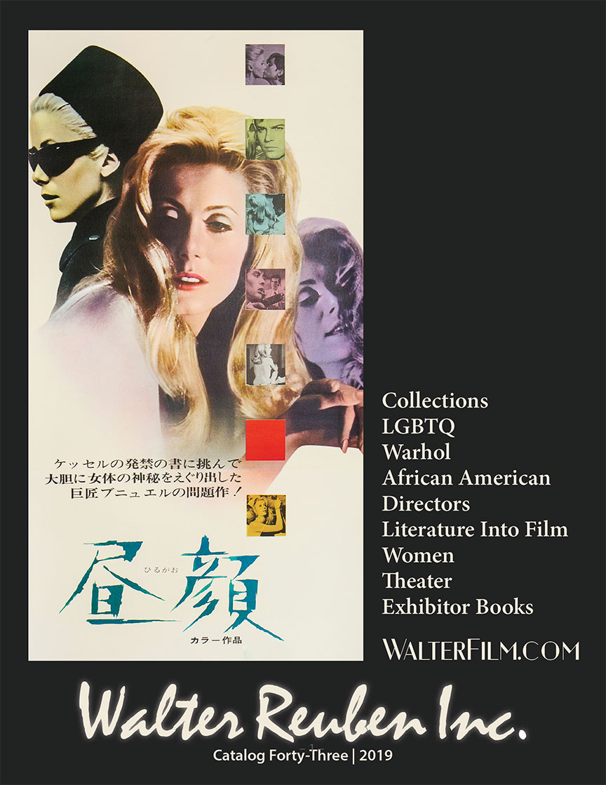 Walter Film Catalog Cover - Belle de Jour