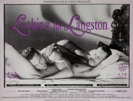 LOOKING FOR LANGSTON (1989) UK quad poster