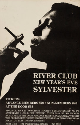 SYLVESTER / RIVER CLUB NEW YEAR'S EVE (ca. 1982)