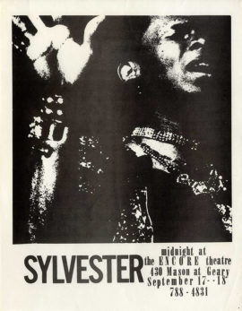 SYLVESTER / MIDNIGHT AT THE ENCORE THEATRE (ca. 1984)