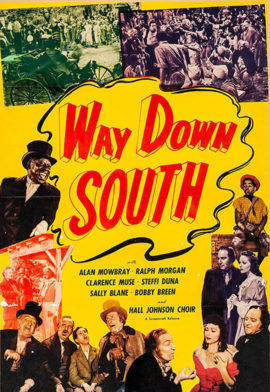 WAY DOWN SOUTH (1939; 2nd release 1949)