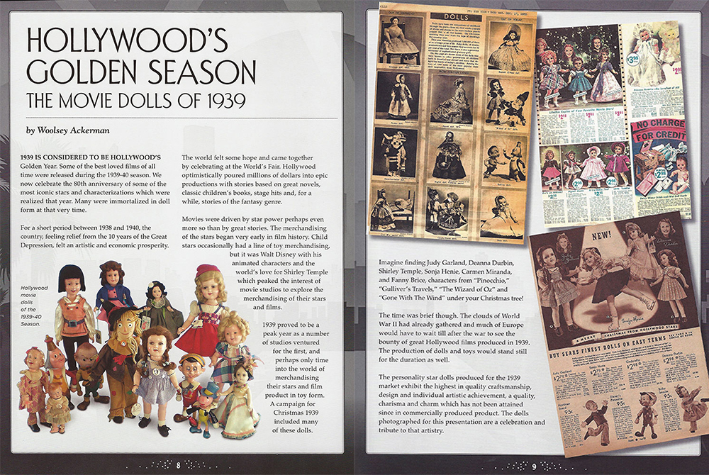 Hollywood's Golden Year - The Movie Dolls of 1939
