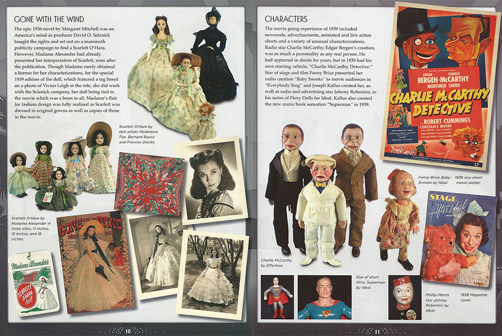 Gone With The Wind & Charley McCarthy Detective Doll