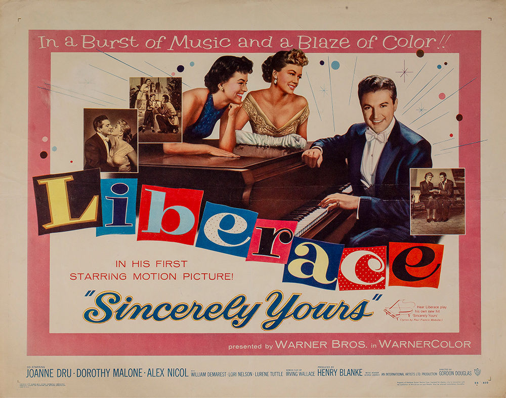 Liberace in Sincerely Yours -WalterFilm.com