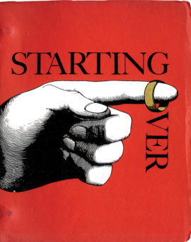 STARTING OVER (1979) early draft film script [ca. 1974]
