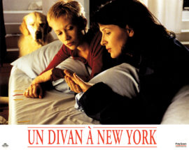 "UN DIVAN A NEW YORK [A COUCH IN NEW YORK] [1996] Set of 8 French 9 1/2 x 11 5/8"" color photos."