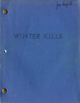 WINTER KILLS (1979) film script