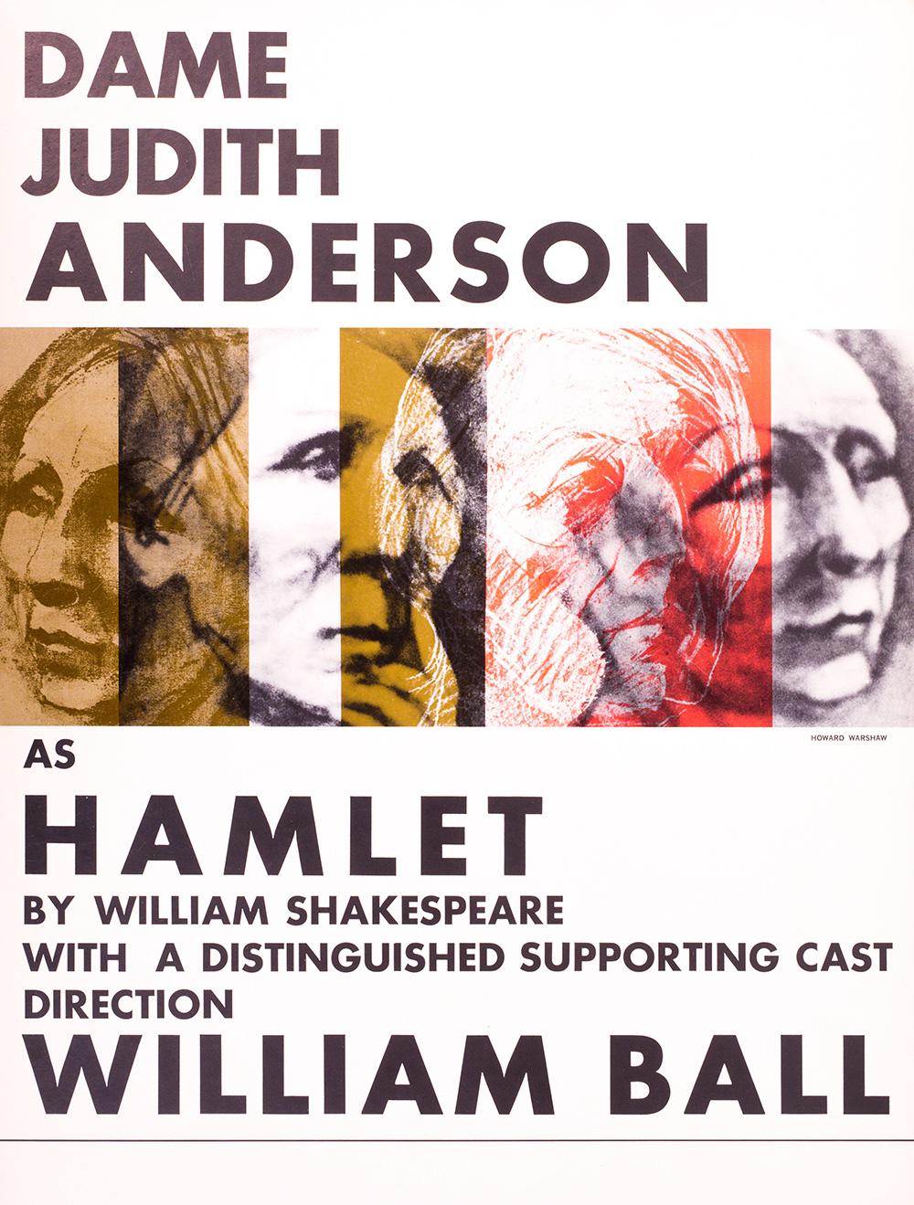 Judith Anderson as Hamlet