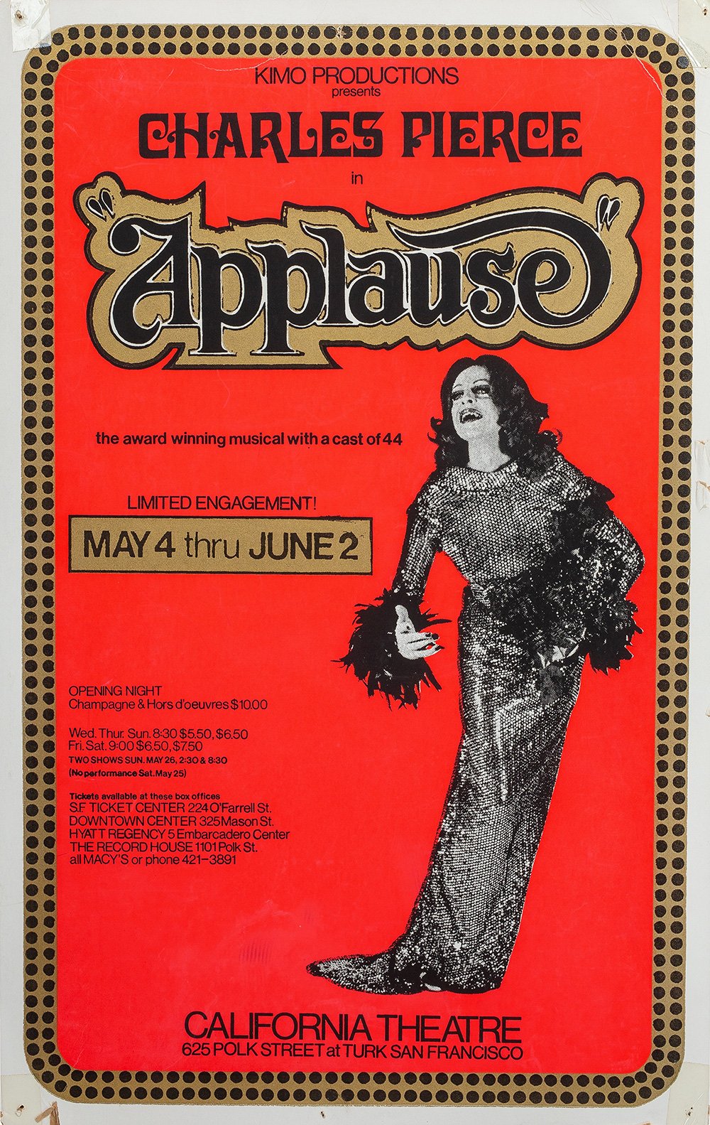 Charles Pierce in Applause
