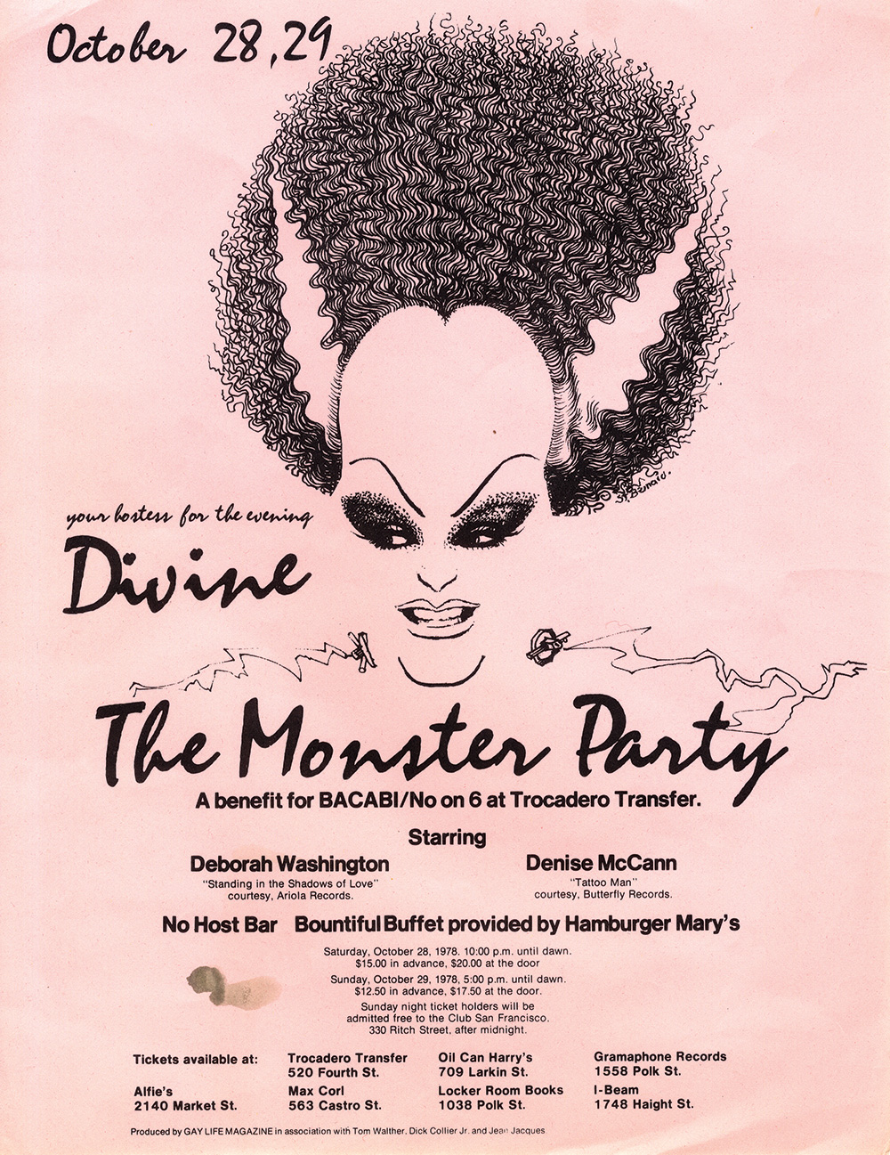 Divine in The Moster Party