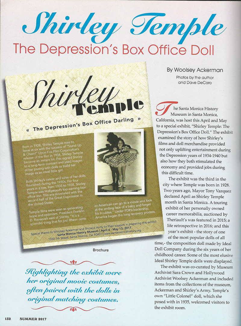 Shirley Temple Blog 1