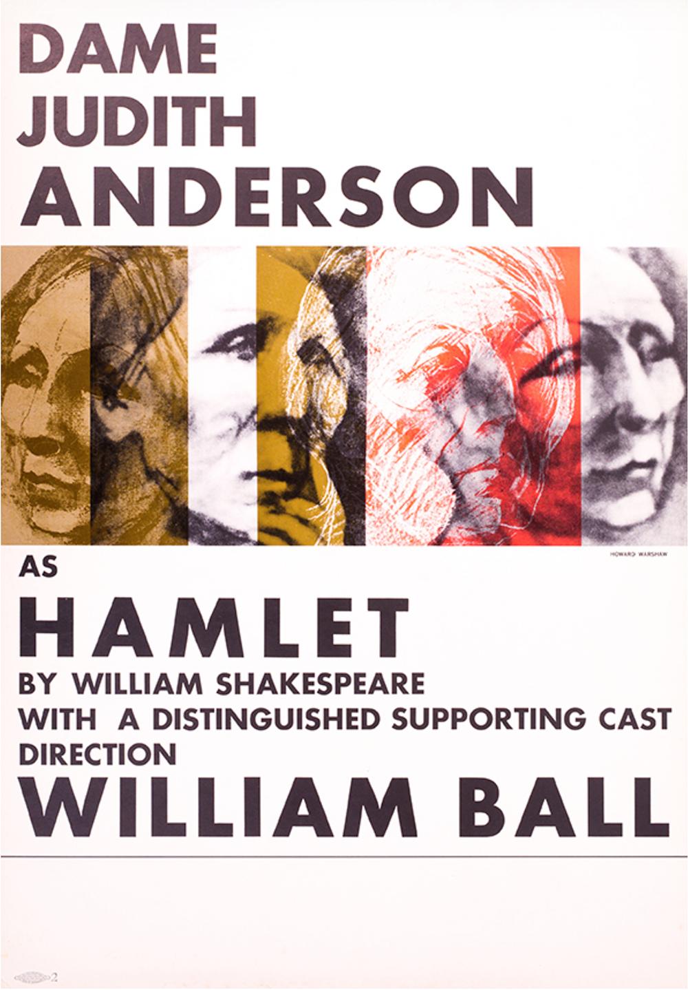 Judith Anderson as Hamlet in 1970