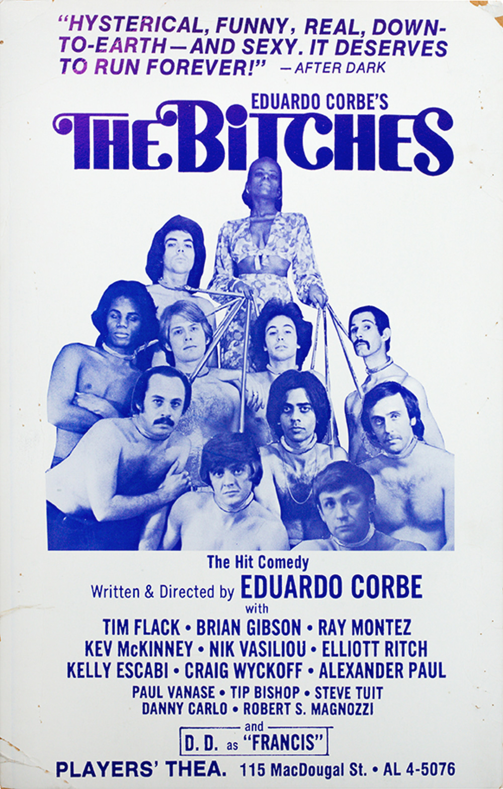The Bitches - Poster for the 1972 Off-Bway production