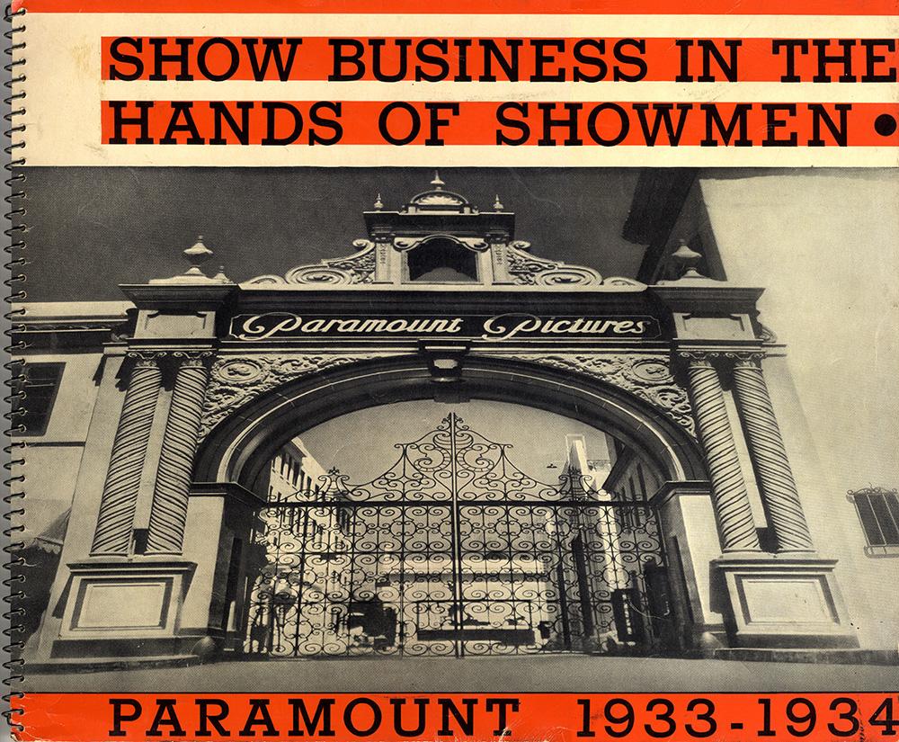 Paramount Pressbook 1933-1934