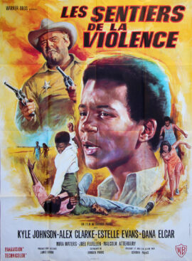 THE LEARNING TREE [Les Sentiers de la violence] (1969) French poster