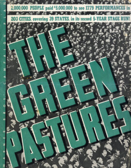 The Green Pastures (1936) Campaign book