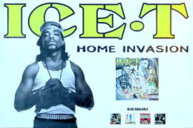 ICE-T / HOME INVASION (1993) Record store poster