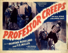 PROFESSOR CREEPS (1942)