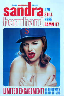 SANDRA BERNHARD / I'M STILL HERE... DAMN IT! (1988)