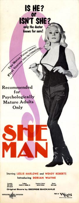 SHE MAN (1967)