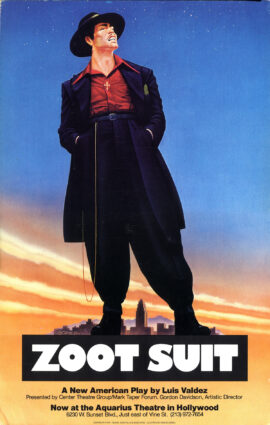 ZOOT SUIT (1978) Theatre poster