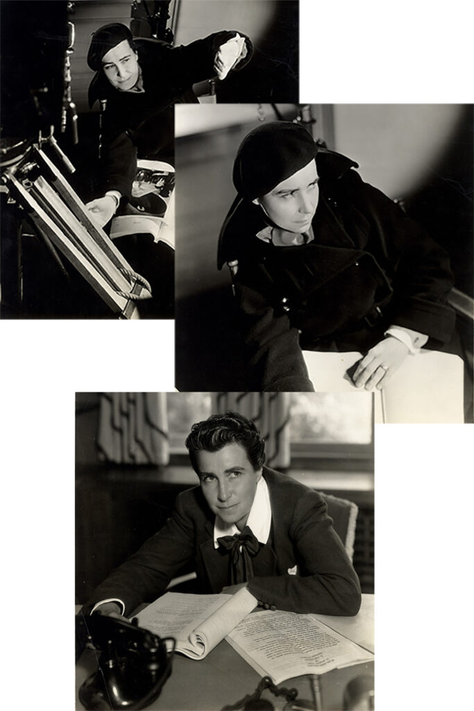 Dorothy Arzner Three Photographs