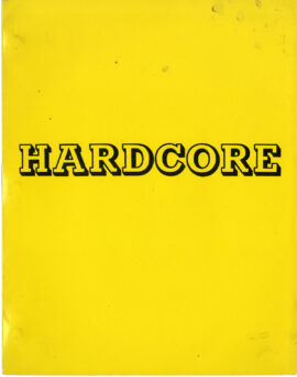 HARDCORE (1979) Revised screenplay by Paul Schrader, Jan 4, 1978