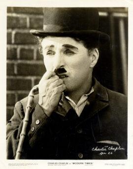 MODERN TIMES (1936) Charlie Chaplin photo