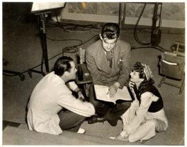 PRESTON STURGES / THE LADY EVE (1941) BTS photo