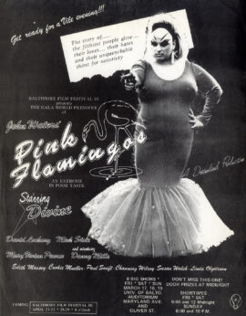 PINK FLAMINGOS (1972) Mini poster