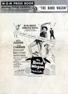 BAND WAGON, THE (1953) M-G-M pressbook