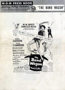 BAND WAGON, THE (1953) M-G-M pressbook