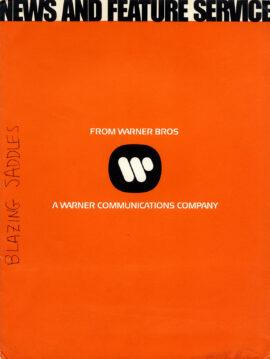 BLAZING SADDLES (1974) Press kit