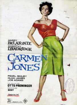 CARMEN JONES (1954; 1963 1st Spanish release) Pressbook