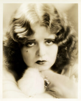 CLARA BOW (ca. 1928) by Gene Robert Richee