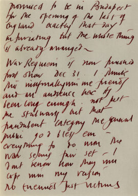 DEREK JARMAN Archive of unpublished signed autographed letters (ca. 1985-88)
