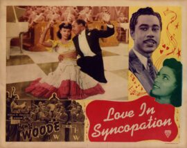 LOVE IN SYNCOPATION (1946) Lobby card