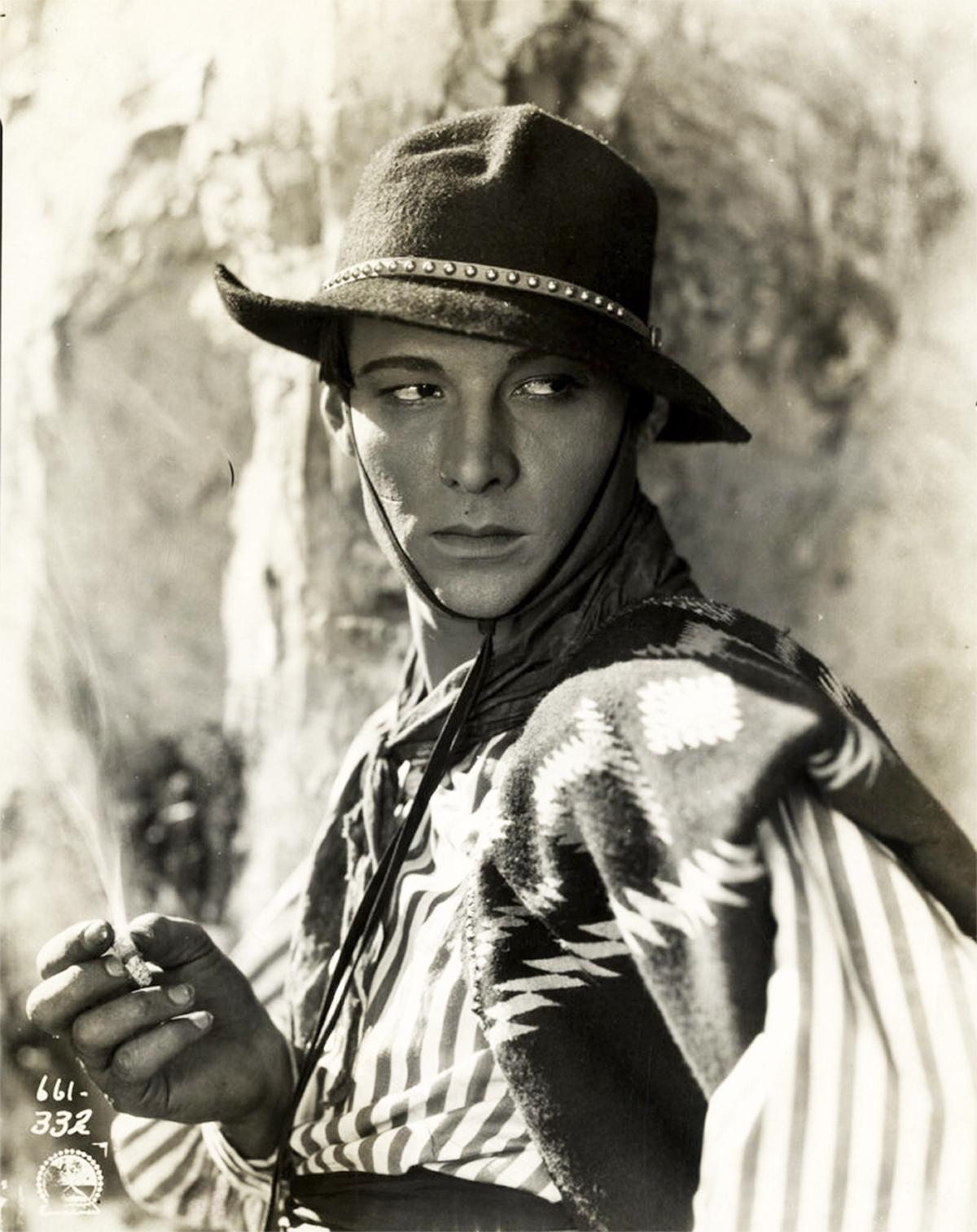"Rudolph Valentino ""A Sainted Devil"" - Walter Film"
