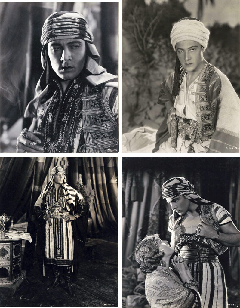 Son-Of-The-Sheik Staring Rudolph Valentino - Walter Film