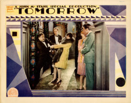 TOMORROW [alt title for MARRIAGE BY CONTRACT] (1928)
