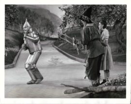 WIZARD OF OZ, THE (1939) Judy Garland wears bedroom slippers