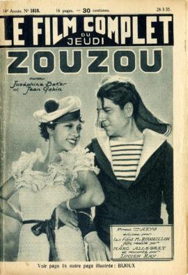 ZOUZOU (1934) French romotional magazine