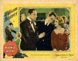 MAN'S MAN, A (1929) Lobby card