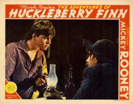 ADVENTURES OF HUCKLEBERRY FINN, THE (1939) Lobby card