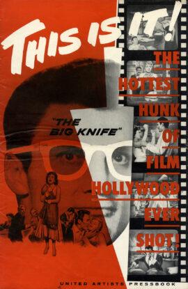 BIG KNIFE, THE (1955) Pressbook