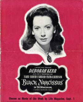 BLACK NARCISSUS (1947) Pressbook